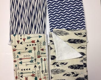 REGISTRY ITEM: Set of Four Burp Cloths