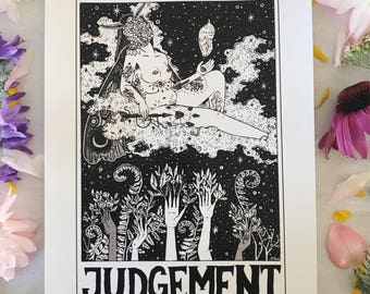 Tarot Card Print • 'Judgement' • by Madison Ross