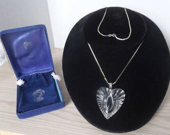 WATERFORD HEART NECKLACE