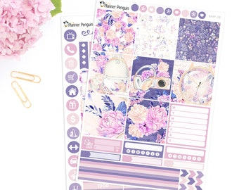 Girl On The Go Mini Happy Planner Weekly Kit Planner Stickers For Mini Happy Planner // #MHP-39