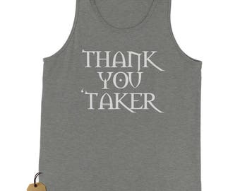 Thank You Undertaker Jersey Tank Top for Men