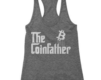 The Coinfather Racerback Tank Top for Women