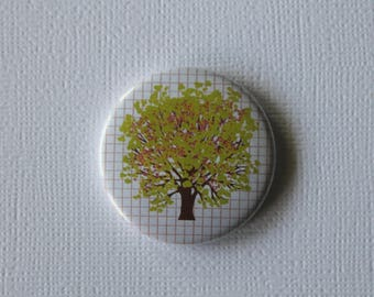 Tree was weather - flat Badge or PIN or magnet