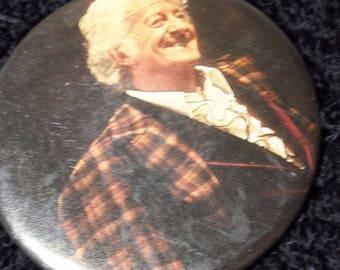 Vintage Doctor Who Jon Pertwee Pin Pinback