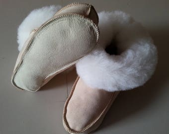 Slippers sheep skin without sole of the 42-45