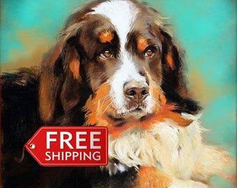 Custom pet portrait.Personalised Art. Original oil painting.  Pet portrait. Pet portrait comission. Dog painting. Dog art