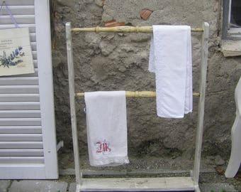 Towel rack hand work
