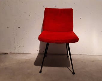 60 years red wig cocktail Chair