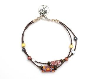Bracelet leather Summerland