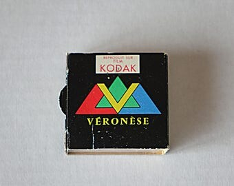 """Vintage Veronese slides - Le paquebot """"France""""5 -  Color photos"""