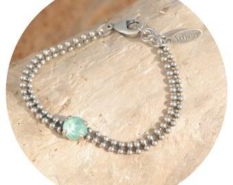 artjany bracelet mint green