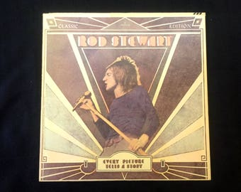 Every Picture Tells a Story - Rod Stewart- Vinyl, LP, Album - Mercury Records - Soft Rock - Vintage 1970 - Pop Music - Maggie May