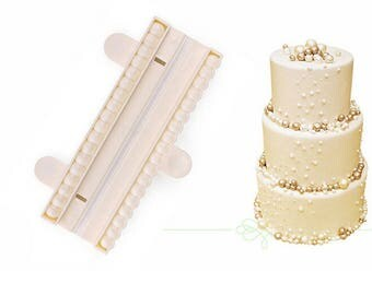 9MM Bead Pearl Fondant Cake Decorating Mold Cutter Gum Paste Sugar craft Fondant Mold Baking Cake DIY