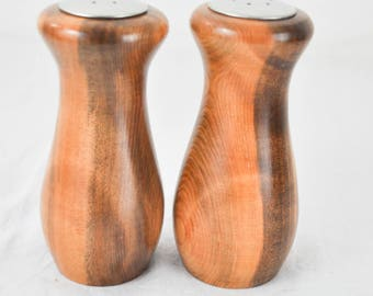 Redwood - California - Mendocino County - Salt and Pepper shakers