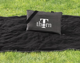 Picnic Blanket, Picnic Blankets, Family Name Gifts, Family Name Picnic Blanket, Blankets, Summer Blankets, Personalized Blanket, Name Gift