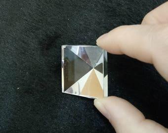 Top quality clear crystal quartz pyramid