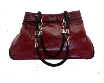 The Basket (red leather)