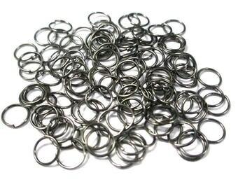 Platinum 50 7mm color jump rings