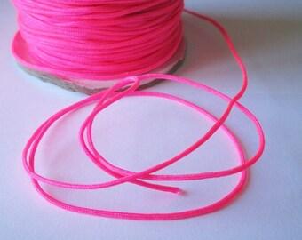 10 m 1.5 mm neon pink nylon string