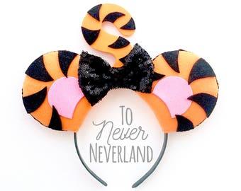 Tigger Ears, Winnie the Pooh Ears, Tigger Mickey Ears, Disney Inspired Winnie the Pooh Ears, Tigger, Poohs Corner, Pre-Order Listing