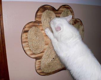 Artsy Kitty Scratch Paw