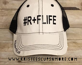 Sale #R+FLIFETrucker Style Adjustable Hat **Limited Time** RFH18336