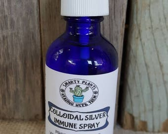 Collidial Silver Water Spray Aids for Burns,Cuts,Boils,Skin Iritations,Abrasions, Anti Viral, Anti Bacterial, Anti Fungal Works on Dogs Cats