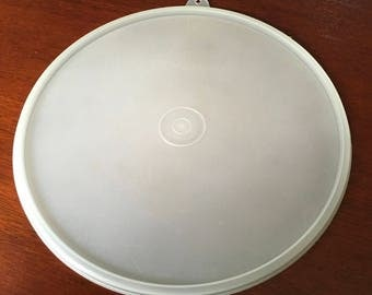 "Vintage Tupperware Seal Lid Cover Sheer # Z 8 3/4 "" 230 Replacement"