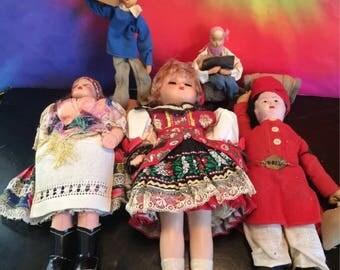 Grandmas vintage dolls