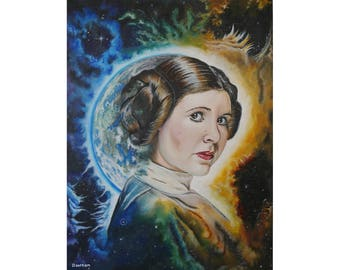 Alderaan Survivor - Original Artwork