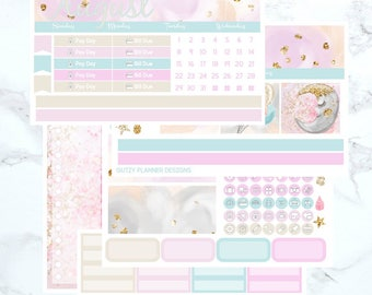 August Monthly Sticker Kit