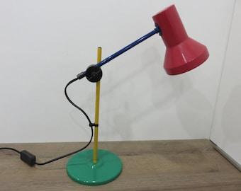 lamp colors primary 80's 1980's 80's era Memphis Sottsass vintage lamp