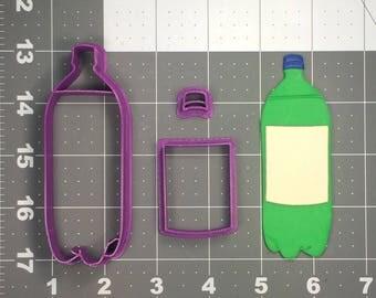 Soda Bottle 100 Cookie Cutter Set