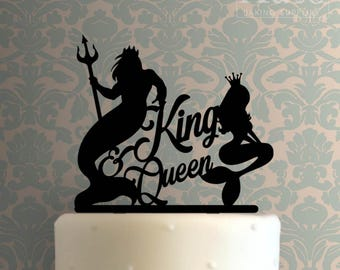 King and Queen Cake Topper 100