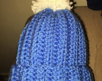 Baby Pom Pom hat size 0-3 months
