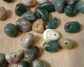 Ocean Jasper Beads, 10mm ~ 32 beads total in this set