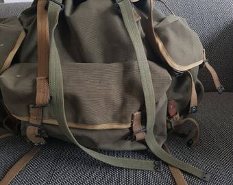 1950's army backpack