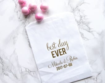 Best Day Ever Personalized Favor Bags