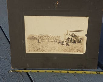 Horse Steam Engine Threshing Haying Large Cabinet Card Photo Photograph Norris Norwich Kansas