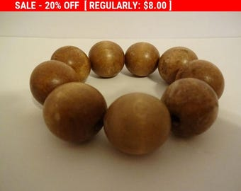 Additional 10 Dollar Coupon Inside Wooden Ball Bead Bracelet