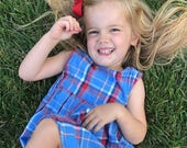 Daddy Shirt Dress - Father's Day Gift - Dress Made From Dads Shirt - Daddy Daughter Dress - Toddler Dress -Button Down Dress - Baby Dress