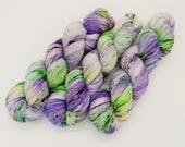 Spring Awakens 100g 400m 4ply hand-dyed yarn.