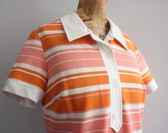 Vtg 60's Candy Stripe St Michael Dress