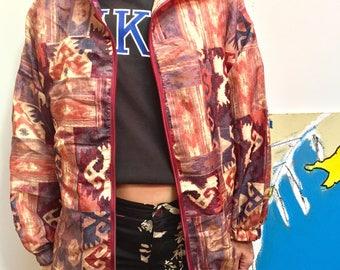 mixed vintage 90's jacket