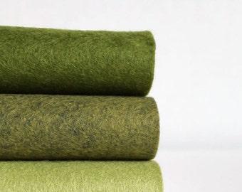 Wool Blend Felt   Half Yard of each color   18 x 36 inch   Pick a Color Set   DIY