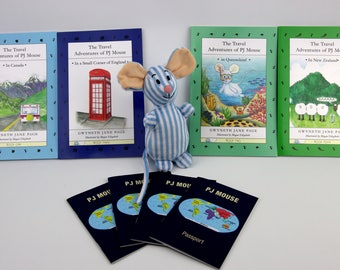DELUXE PJ Mouse Softcover 4 Book Pack