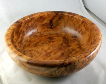 Thuya Burl Large Bowl