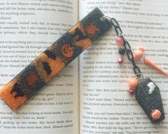 Halloween bookmark