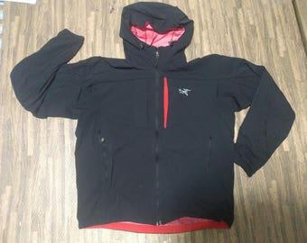 Arc'teryx Hoodie Windbreaker jacket Gore-Tex Fullzipper Size L