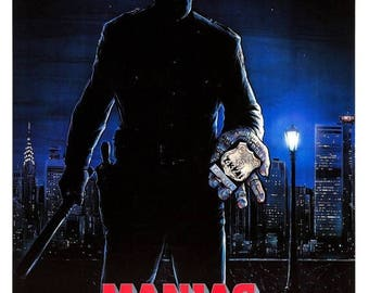 Summer Sale Maniac Cop 1988 Slasher/Thriller Movie POSTER